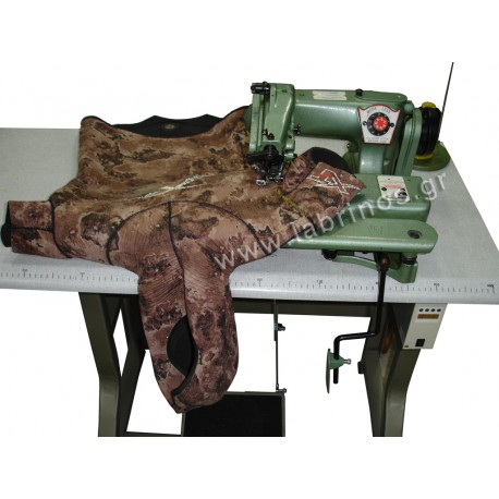 Blindstitch  sewing machine for neopren